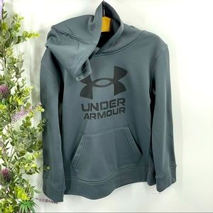 Under Armour | Grey Dri-Fit Hoodie, UA graphic